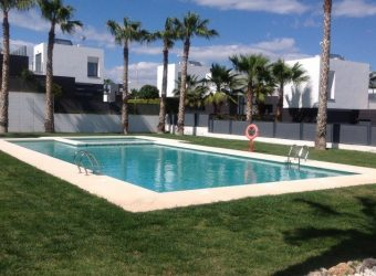BPOR1919 Luxury Ground floor golf apartment Algorfa
